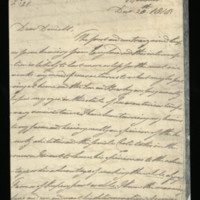 Letter from William, Duke of Clarence to J.W. Daniell, written at Hanover
