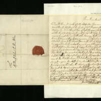 Letter from George III to Prince William, written at the Queen's House