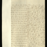Letter [in French] from the Princess of Wales to Mrs. Clayton [GEO/ADD/28/133], reporting that she has been to Kensington and found Princess Amelia very well, if weak, describing her daughter's current afflictions and general health, and requesting Mrs Clayton's opinion of this as well as that of 'your freind' [sic] [presumably Dr Freind]; with transcription in French and English translation [GEO/ADD/28/021].