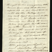 Letter from Princess Elizabeth to Sir Henry Halford on the the health of the King, and the visit of Dr Baillie
