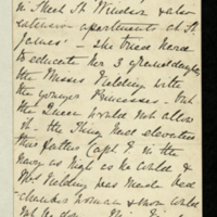 Biographical notes on life of Lady Charlotte Finch and the Feilding family