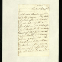 Letter from Queen Adelaide to Lady Ely, written at the Pavilion [Brighton?]