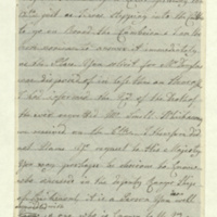 Letter to unidentified correspondent