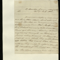 Letter from John Belson to General Jacob de Budé, reporting that the legacy issue is largely settled and that he hopes to have a position soon, but asking for a further loan in the meantime as he is still in financial difficulties.
