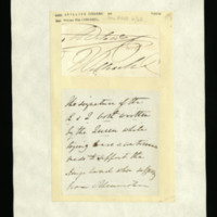 Signatures of Queen Adelaide and King William