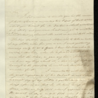 Letter from H. Maclean to General Jacob de Budé requesting the General's instructions with regard to port wine which had been acquired for Mr. Darbon, but which he had not received and did not require.