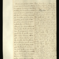Letter [in French] from the Princess of Wales to Mrs. Clayton [GEO/ADD/28/130], concerning whether Princess Anne should continue taking 'the bitter' as she has not been completely well, discussing the health of Princess Amelia, and asking Mrs Clayton to get advice from 'your freind' [sic] [presumably Dr Freind] as to the appropriate treatments for both; with transcription in French and English translation [GEO/ADD/28/004].
