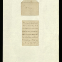 Letter from Queen Charlotte to Mrs Mary Delany