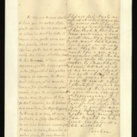 Letter [in French] from the Princess of Wales to Mrs. Clayton [GEO/ADD/28/137] concerning Princess Amelia's health and treatments proposed by Stegerthal and Bussier; with transcription in French and English translation [GEO/ADD/28/003].
