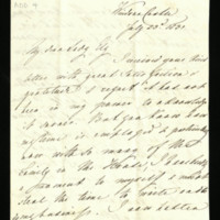 Letter from Queen Adelaide to Lady Ely, written at Windsor Castle