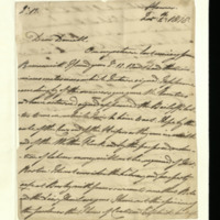 Letter from the Duke of Clarence to J.W. Daniell, written at Hanover
