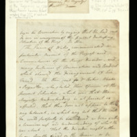 Memorandum of a conversation between William Pitt and the Prince of Wales