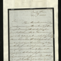 Letter from William, Duke of Clarence to Sir Henry Keppel, written Bushy House