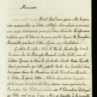 Letter from Queen Charlotte to Landgrave Frederick of Hesse-Kassel