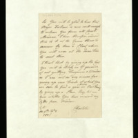 Letter from Queen Charlotte to William Price