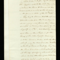 Papers concerning the status of the jewels of Queen Charlotte