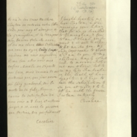 Letter [in French] from the Princess of Wales to Mrs. Clayton [GEO/ADD/28/072], expressing amusement over the mix-up of Mrs Clayton's letters to herself and to Geminghen, reporting that she will be going to her children soon and that Princess Amelia is not well, explaining that she will be visiting Lady Pembroke tomorrow on account of the death of her [Lady Pembroke's] daughter and hoping to have the pleasure of seeing Mrs Clayton for a good portion of the day; with transcription in French and English translation [GEO/ADD/28/060a].
