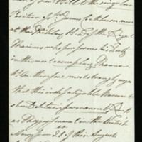 Letter from William IV to Lord Hill, written at Windsor Castle , regarding Sir James Cockburn