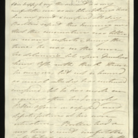 Letter from Princess Mary to Sir Henry Halford providing an account of the King's health; and on Dr Baillie's hope for the King's recovery
