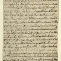 Letter from Lady Charlotte Finch to Queen Charlotte