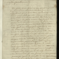 Letter from David André to General Jacob de Budé agreeing to take charge of his financial affairs when he goes to Hanover [with Prince William], and discussing arrangements for his expenses and investments.